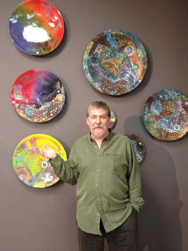 Michael Kifer artist at c2c gallery