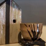 Ceramic House and Tea bowl