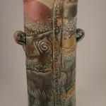 Textured Vase by Cyndi Casemier