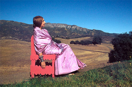 Beatrice Wood in Chair