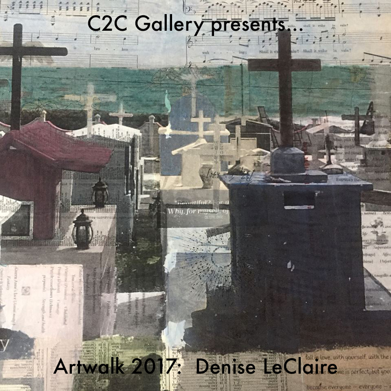Denise LeClaire 2017 Artwalk artist