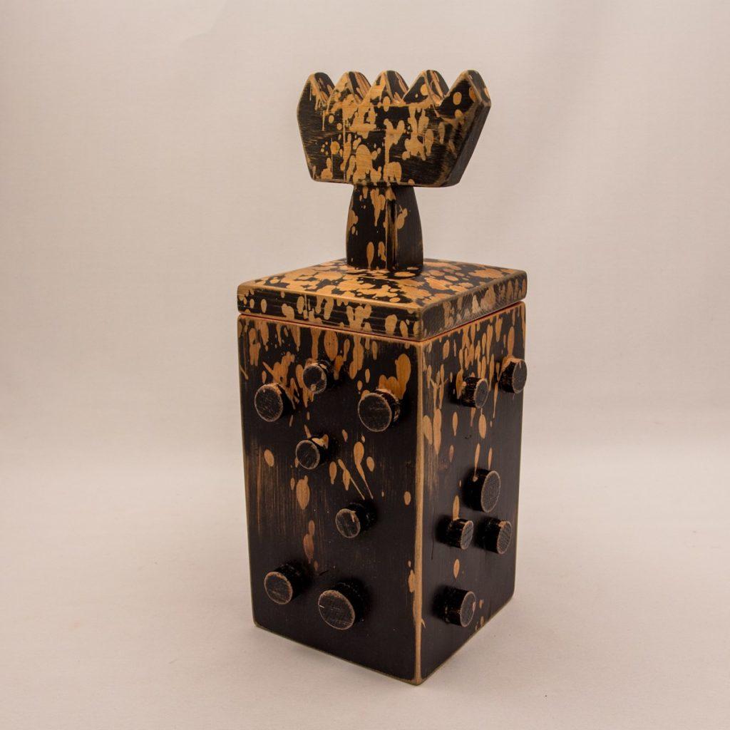Lee Brown woodbox-brown-LB-91B