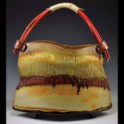 Mike Taylor's ceramic basket, pottery