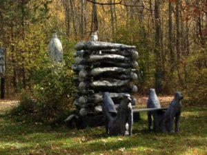 Mark Chatterley's outdoor sculptures