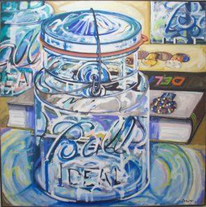 """""""Ball Jar"""", 48 x 48"""