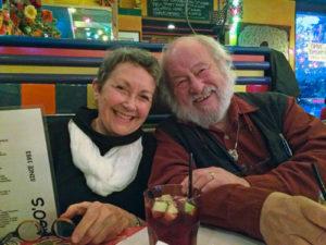 Judi Dyelle and Robin Hopper