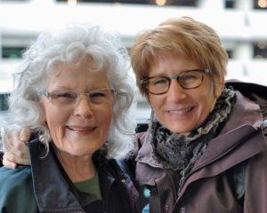 Vicki Hamilton and Cyndi Casmier