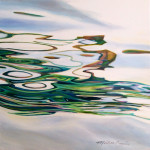 Michelle Courier abstract water painting
