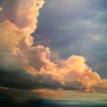 Michelle Courier Cloud Painting