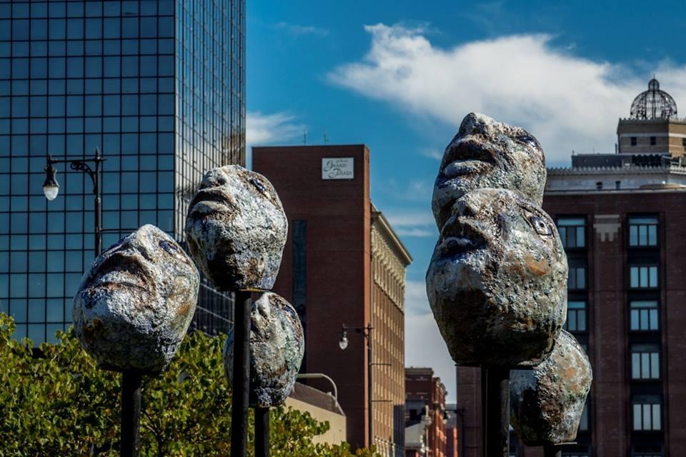 Mark chatterley sculpture