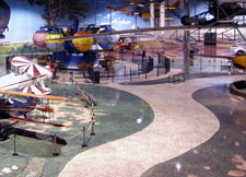 Floor Mural Air Zoo