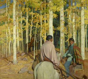 A Friendly Encounter by E. Martin Hennings