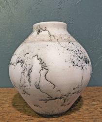 Scott Berman Raku Vases