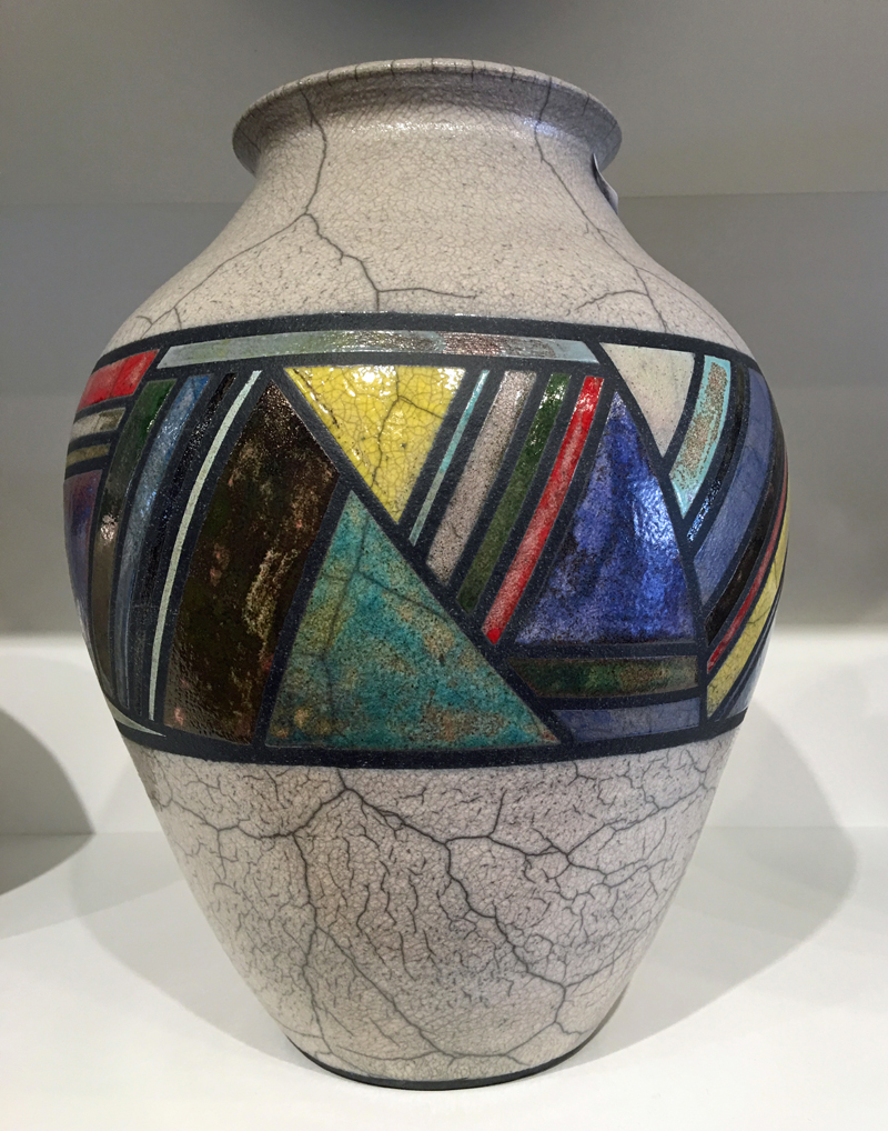 Scott Berman Raku Vases