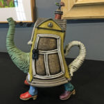 Cory McCrory Teapot with clogs