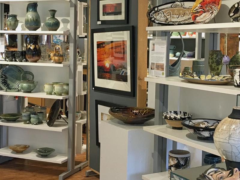 C2C Gallery shot, ceramics, photographs