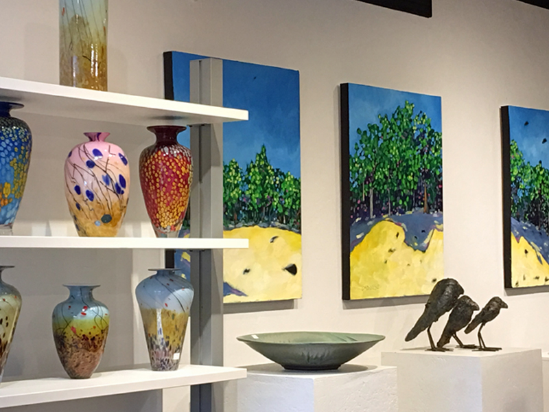 C2C Gallery image pottery paintings, glass