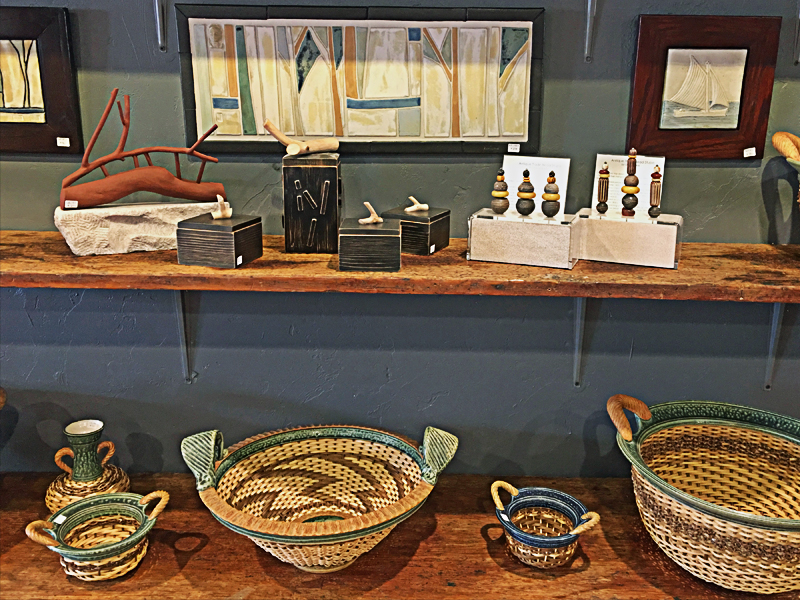 C2C Gallery shot, baskets, boxes, tiles