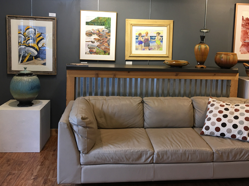 C2C Gallery image, paintings, pottery