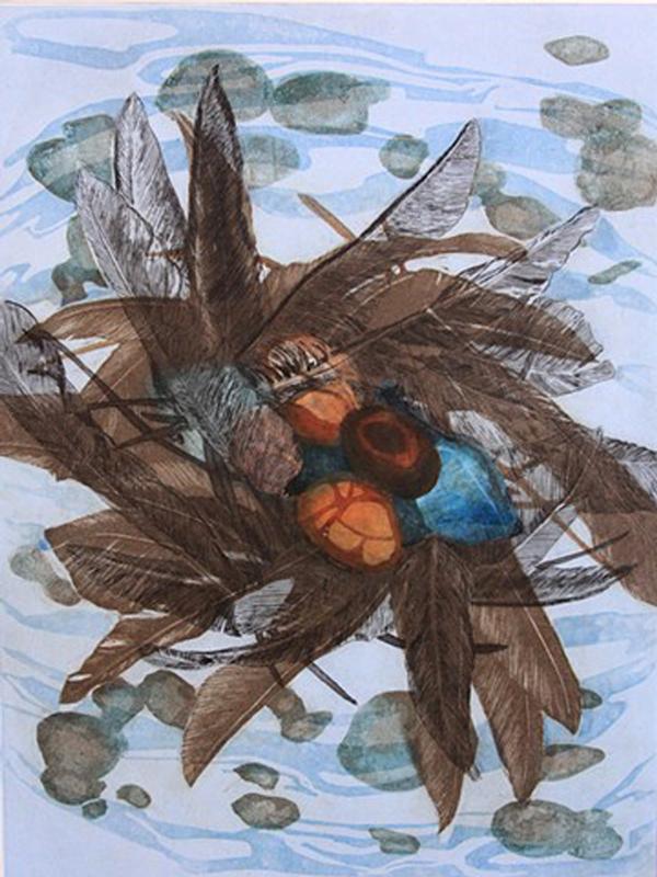 Lithograph by Lee Ann Frame