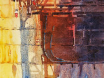 Mark Mehaffey painting