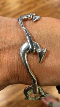 Cindy Edgerle Fish Hook Bracelet