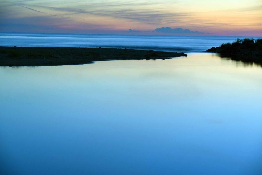 Inland Lake by Stone Peng