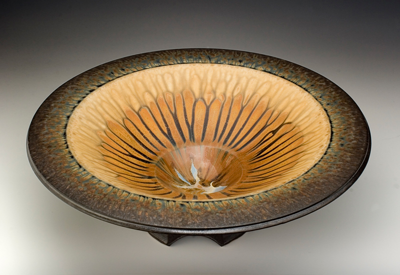 Richard Aerni big brown bowl
