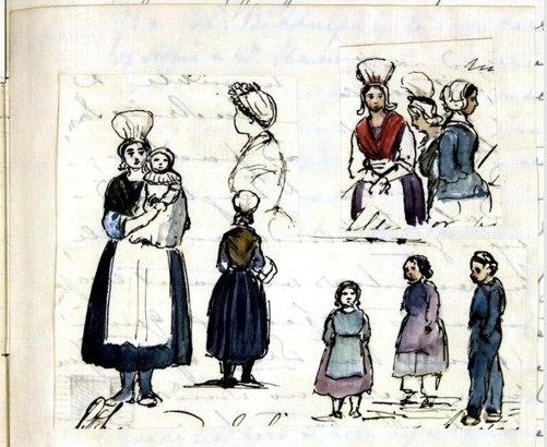 Queen Victoria sketeches