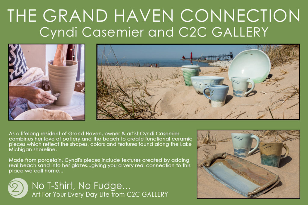 Cyndi Casemier Ceramics connection to the beach
