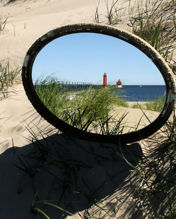 Bob Walma's Reflection of the GH lighthouse