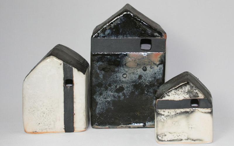 three houses by Cyndi casemier