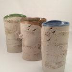 Beach Vases by Cyndi Caesmier