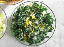 kale caesar salad - recipe
