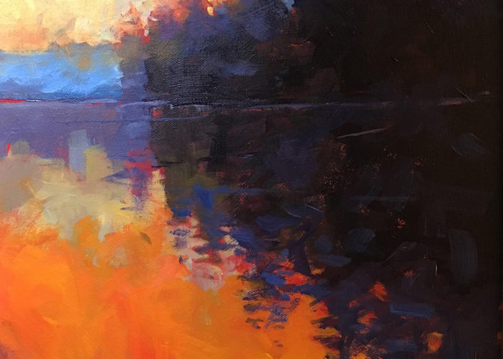 Morning Reflections by Mark Mehaffey - crop