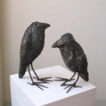 Mark Chatterley crows