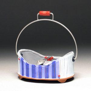 ceramic container by Liz Zlot Summerfield
