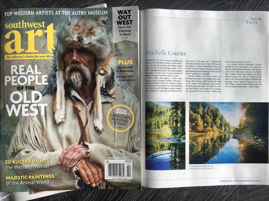 Southwest Art Magazine Cover