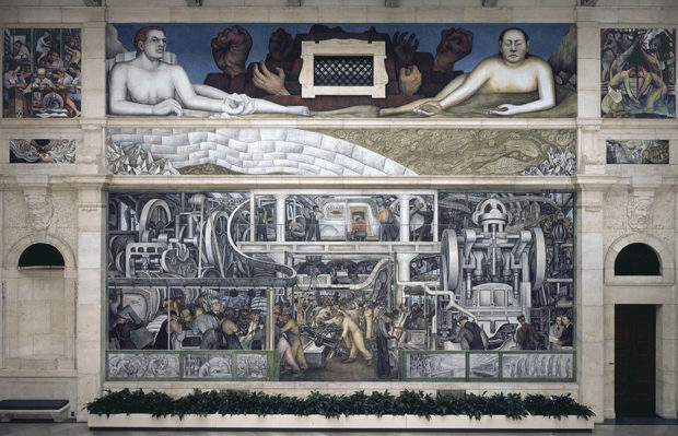 South Wall Detroit Industry Diego Rivera