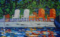 Christi Dreese On Lake Time
