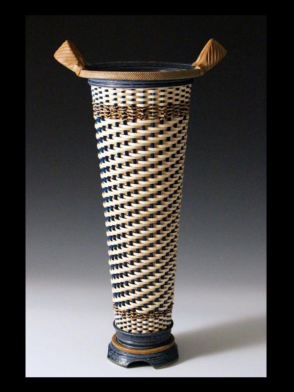 Stephen Kostyshyn Tall Vase