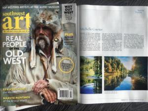 Southwest Art Magazine March 2017