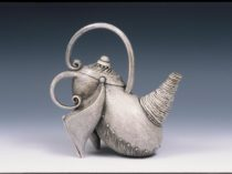 Charcoal Teapot by Carol Wedemeyer