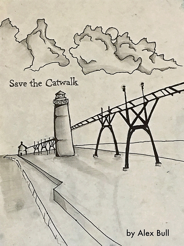 Save the Catwalk by Alex Bull