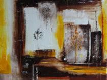 Hiding Moon oil painting by Cheryl Hillman