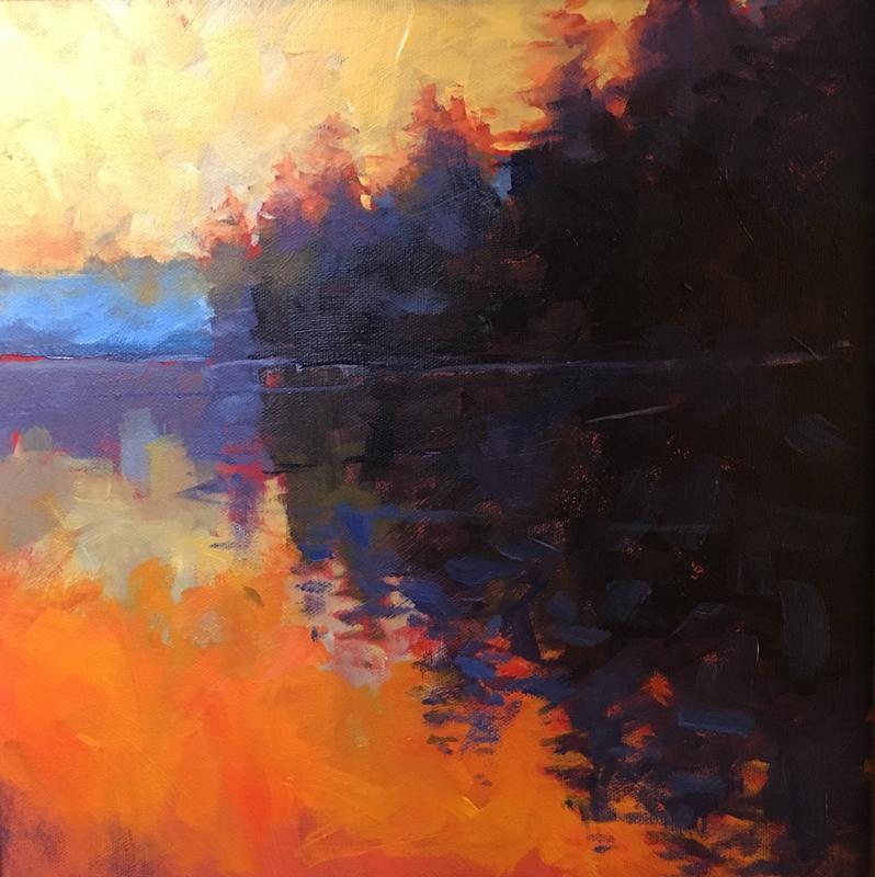 Morning Reflection by Mark Mehaffey