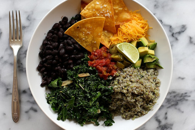 Cauliflower Rice Burrito Bowl