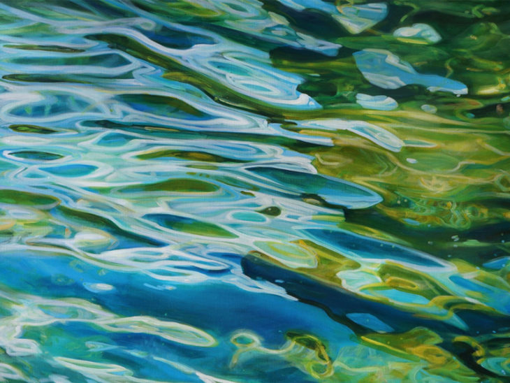 How To Paint A Reflection In Water With Acrylic Paints