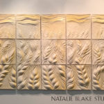 Natalie Blake Studios Campbell Soup's Corporate Headquarters-Lena-Capasso-Wheat-Field detail