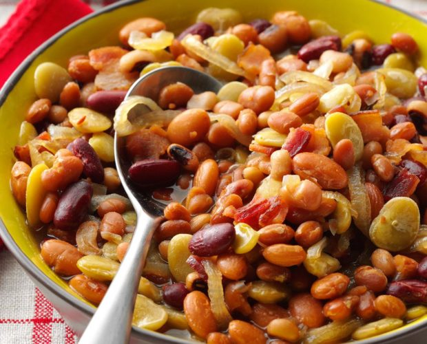 sweet and sour bean recipe